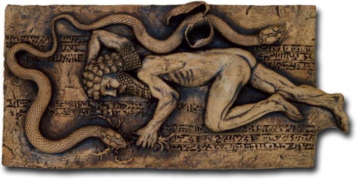 Gilgamesh y la serpiente