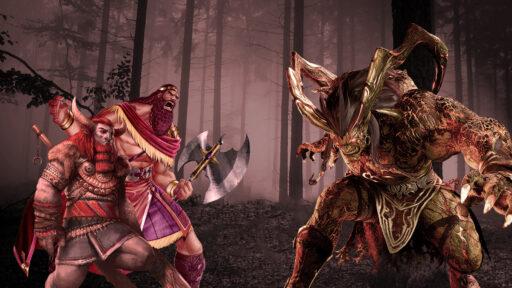 Gilgamesh y Enkidu vs Humbaba