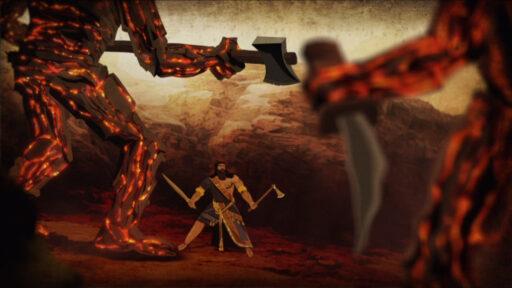 Gilgamesh y los Hombres de Piedra
