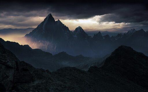 Montañas gemelas Mashu