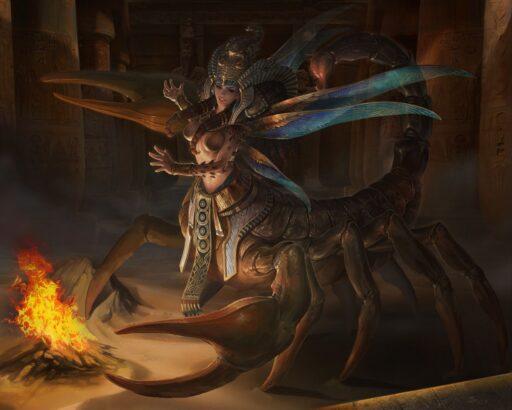 Mujer Escorpión